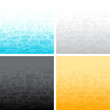 Abstract backgrounds of the business icons.