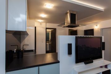 Minimalist apartment - modern solution