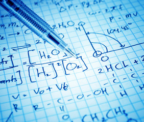 Writing various high school maths and science