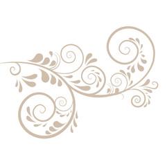 Hintergrund in beige mit Ornamenten