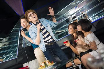 Guys singing