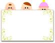 子供達とホワイトボード