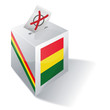Wahlbox Bolivien