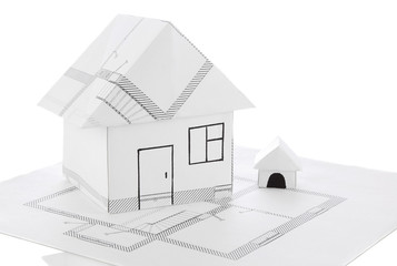 house origami draft