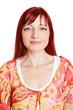 Portrait einer Frau mit roten Haaren