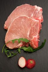 Bistecche di maiale