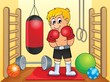 Sport and gym theme image 6