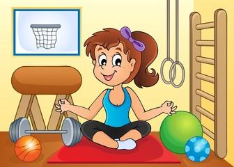 Sport and gym theme image 2