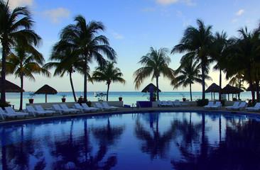 piscine aux caraïbes