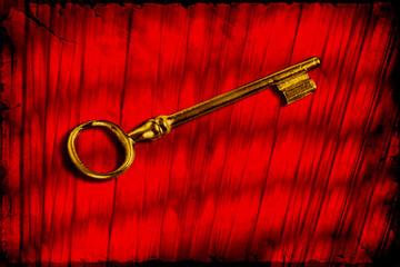 Retroplakat - Schlüssel