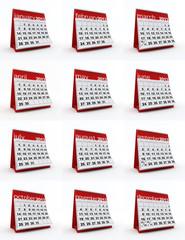 2013 whole year calendar