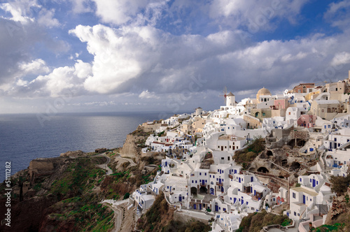 The Village of Oia - Santorini