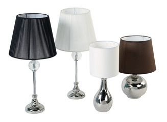 Lamps. Isolated