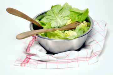 saladier et laitue
