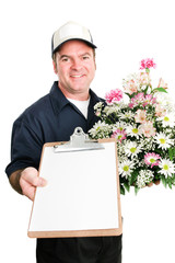 Fresh Flowers Delivered with Message For You