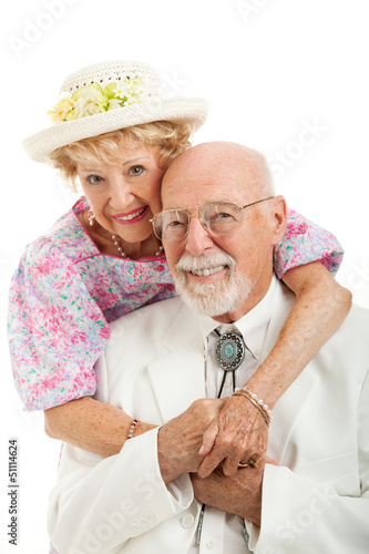 Portrait of Southern Senior Couple