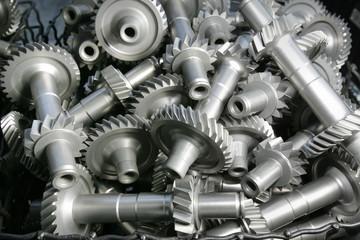 Zahnraeder fuer die Getriebefertigung bei VW (Volkswagen)