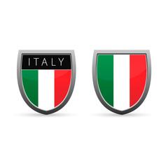 Italy flag emblem