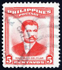 Postage stamp Philippines 1983 Marcelo Hilario del Pilar