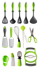 Kitchen utensils. Isolated