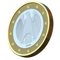 Rückseite Euromünze