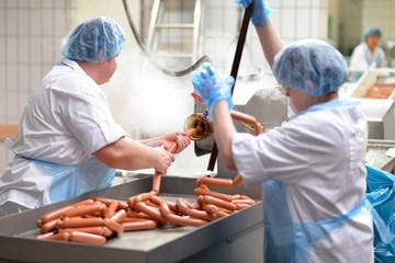 Lebensmittelindustrie Fleischverarbeitung / food production