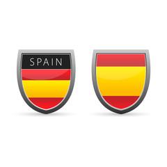 Spain flag emplem