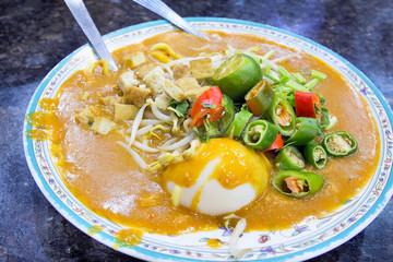 Malay Mee Rebus Dish