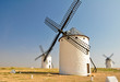 Windmills in Campo de Criptana (Spain)
