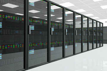 CPU Unit Server Room Data Center