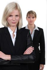 blonde businesswomen