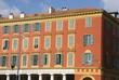 terracotta farbenes mediterranes haus in nizza