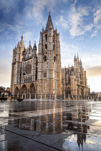 Cathédrale León Espagne