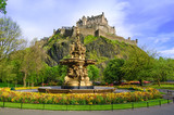 Ross fountain landmark in Edinburgh, Scotland