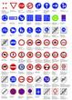 Verkehrszeichen - Vorschriftszeichen VZ 201 - 292