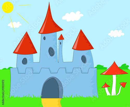 Papiers peints Chateau The Magic Castle