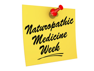 NaturoPathic Medicine Week White background