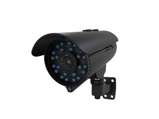 Black CCTV Surveillance Camera