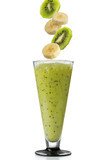 Kiwi and banana smoothie