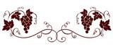 Fototapety Design element -- grape