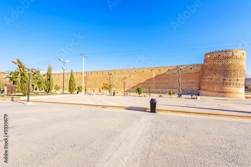 The Arg of Karim Khan in north-east of Shiraz, southern Iran.