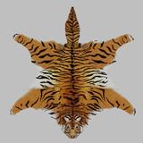 Fototapety peau de tigre