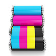Printing technologies. Four roller and colored sheet