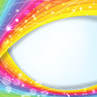abstract background with rainbow colors