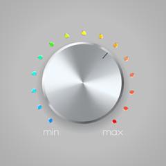 volume icon on gray background