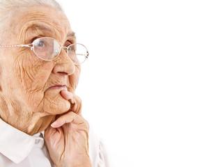 old lady;s portrait