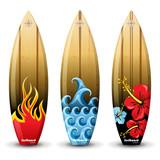 Fototapety surf boards