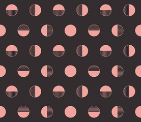 Retro seamless vector background.