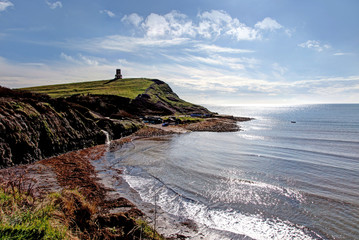 Kimmeridge Bay and Clavell Tower Dorset