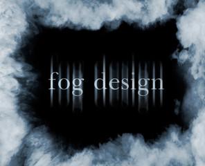 fog on black